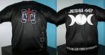 Camiseta de nuestra sensitiva y ritualista JESSI447 con el poder del WICCA Y LOS CINCO ELEMENTOS para saber mas sobre colores disponibles, etc... visita nuestro apartado de *Merchandising